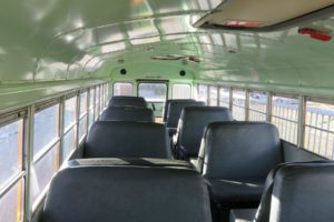Amerikaanse Schoolbus Huren South West Tours Interieur